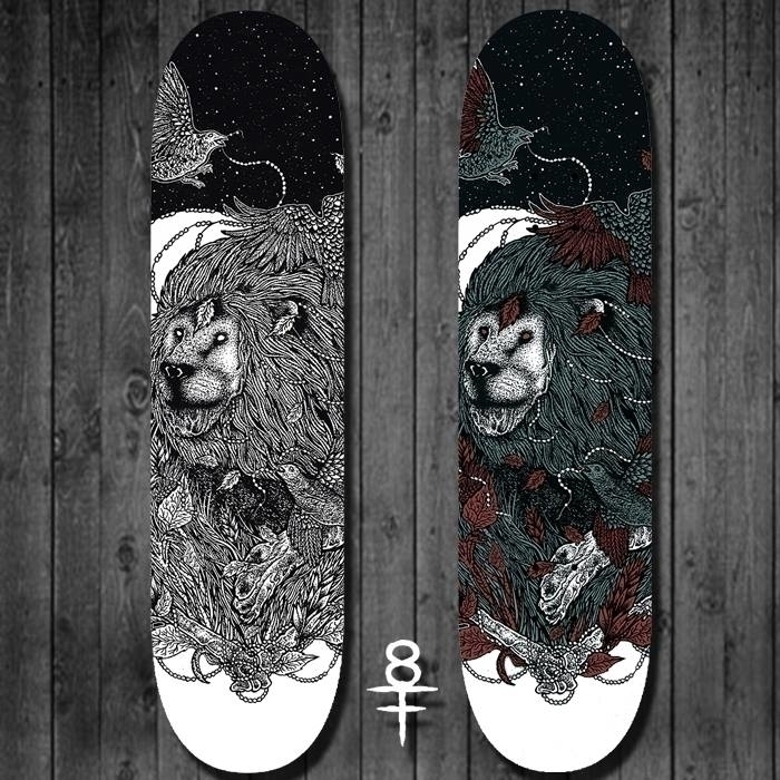 skateboard illustration (fors s - shapefromhell | ello