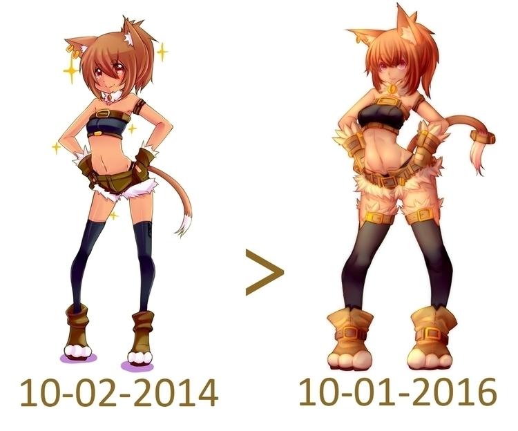 illustration, characterdesign - moeroknight | ello