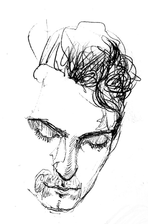 Portrait | Sketch - sketch, penink - liovamilla | ello