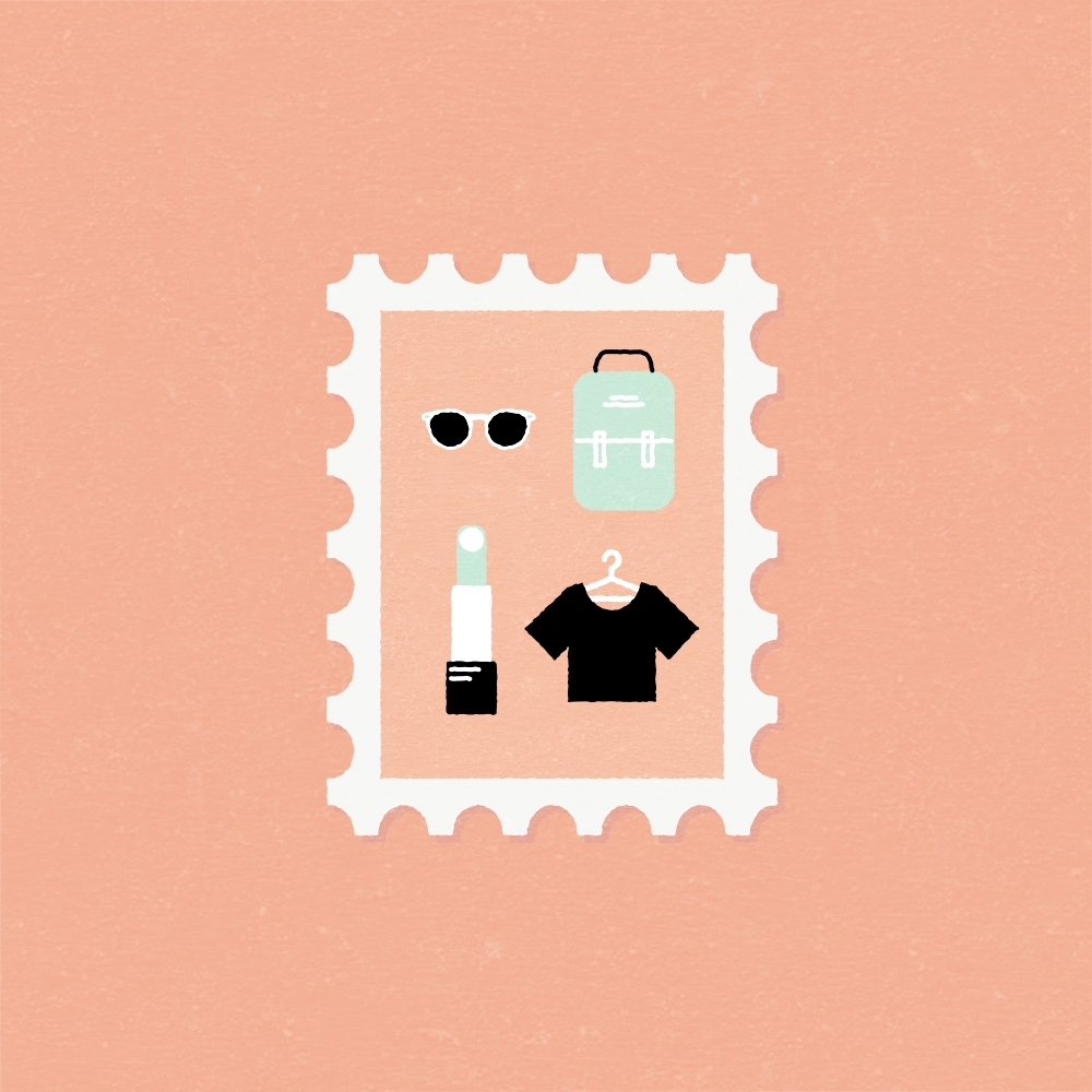 Shopping stamp Berlin - shopping - gloriaciceri | ello