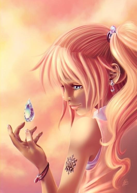 Crystal tear - Serah Farron FFX - joliet | ello