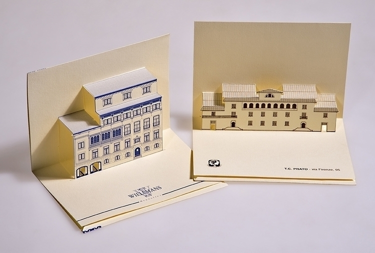 Hotels private buildings - 3d, popup - giovannirussografico-1091 | ello