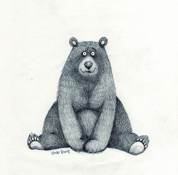big bear - sketchbook, illustration - cpowell-1234 | ello