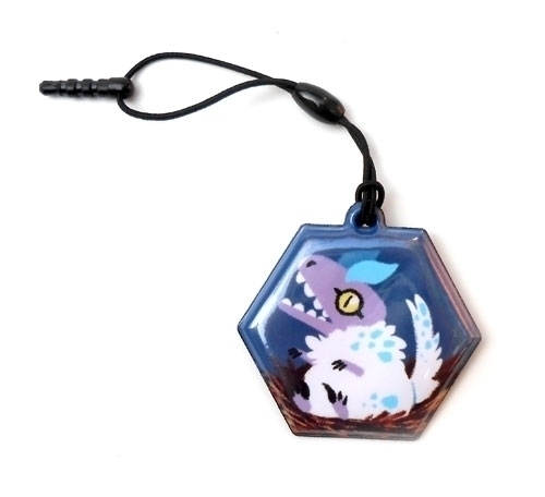 Raptor chick screen wiper charm - allytha | ello