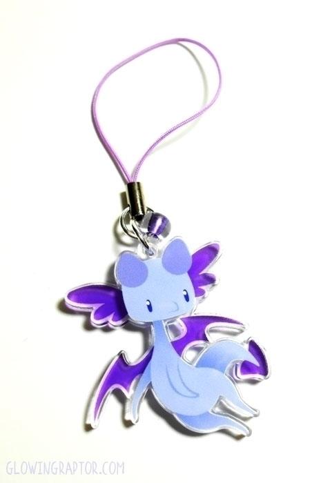 Liatris Dragon rampant charm - dragon - allytha | ello