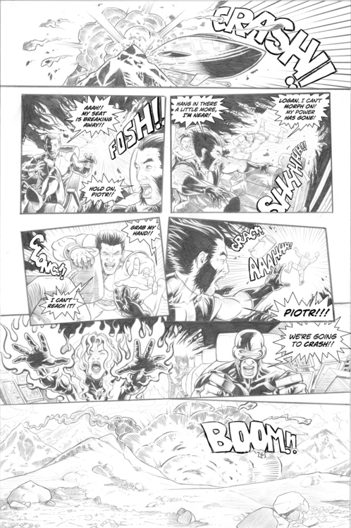 page 5 - wolverine, pencil, comicpage - alexfemenias | ello