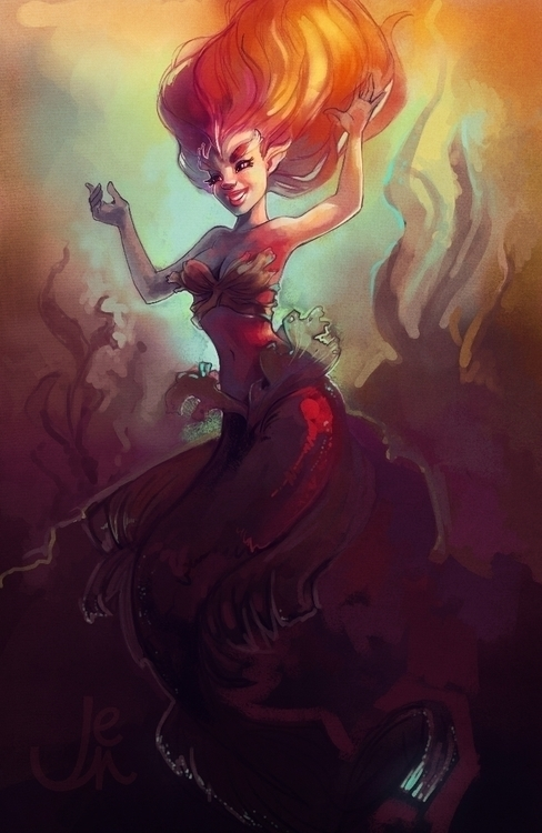 Mermaid doodling - estirdalin | ello
