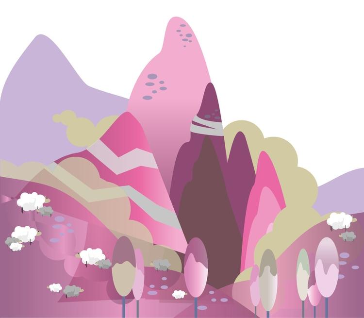 Planet - illustration, vector, environment - mp-1845 | ello