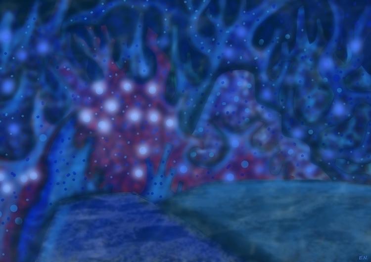coral city - animation, painting - emanuelenicolosi   ello