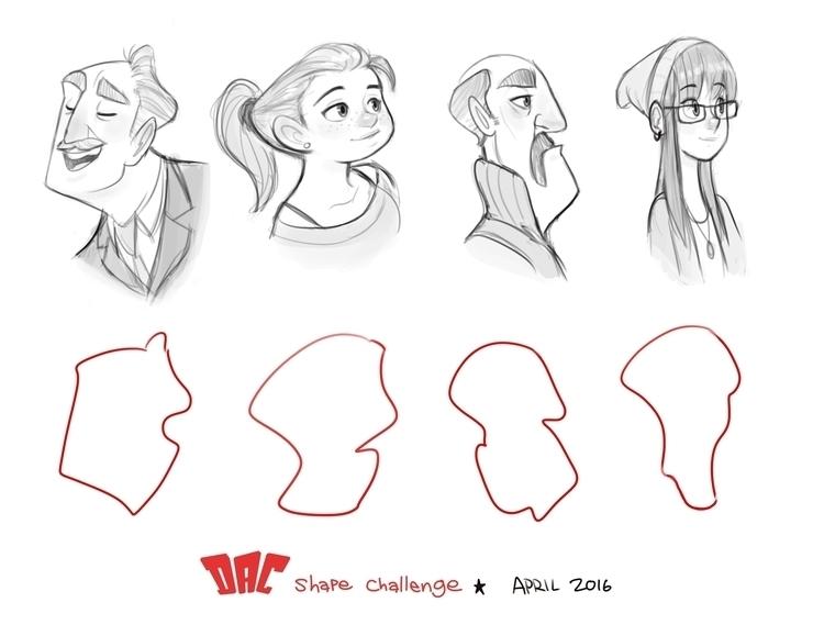 April 2016 shapes - luigil-2352 | ello