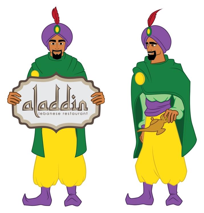 Aladdin Character Lahmajoun Nic - mp-1845 | ello