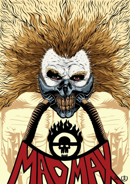 Immortan Joe  - furyroad, vector - e1_since1987 | ello