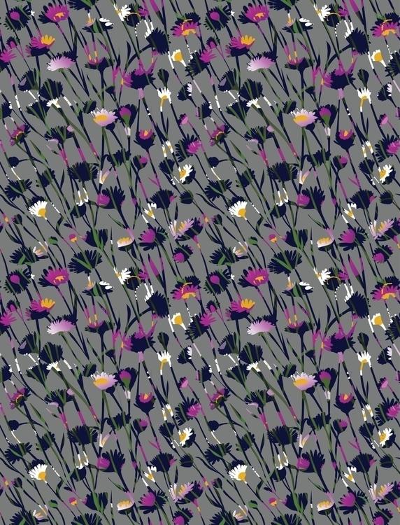 Floral - illustration, fashion, patterndesign - nataliya_fedun | ello
