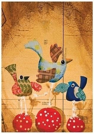Swinging finger, Collage art - nurseryart - palahoyos | ello
