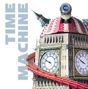 TIME MACHINE Acrylic 20 30 canv - stu-4310 | ello