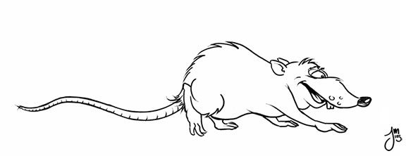 rat drew project working - dailydoodle - jasonmartin-1263 | ello