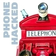 PHONE HACKED Acrylic 20 30 canv - stu-4310   ello