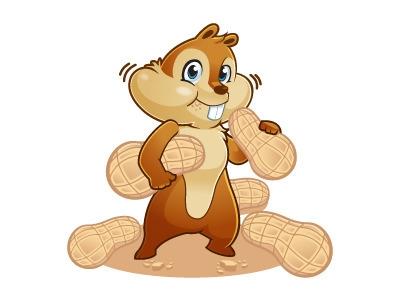 Chipmunk Character Design - illustration - rockcodile | ello