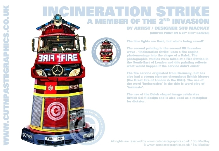 INCINERATION STRIKE scenes info - stu-4310 | ello