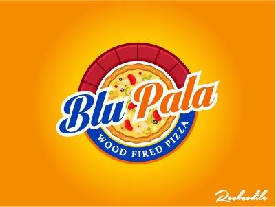 BluPala Logo - illustration, logodesign - rockcodile | ello