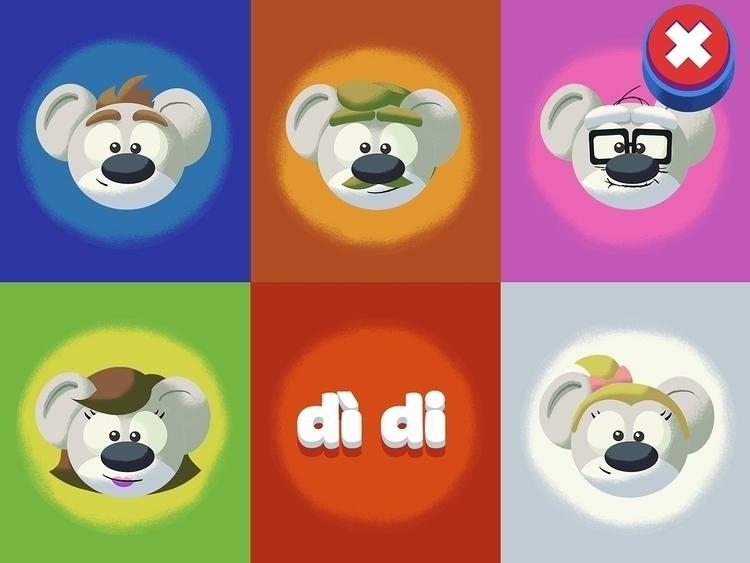 Match word image game - illustration - curkas   ello