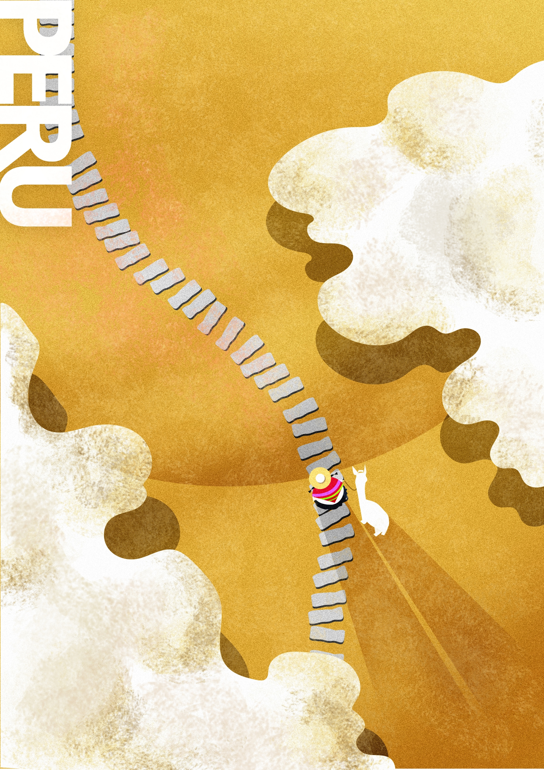 Lonely Planet Project -- PERU - illustration - bayusadewo   ello