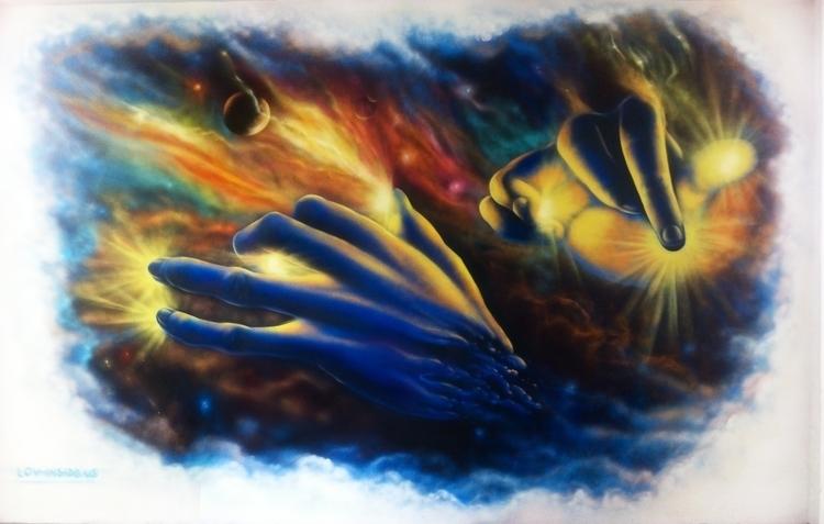 Orpheus creating Universe AEROS - jahone | ello