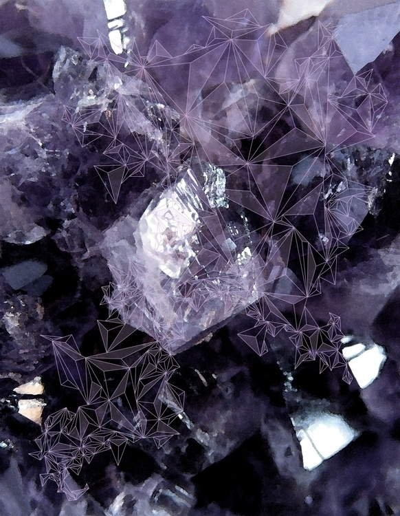 Amethyst Texture - amethyst, triangles - caitiluke | ello