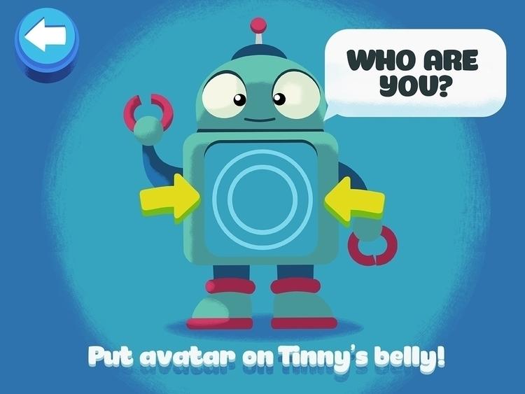 concept screen education app - illustration - curkas | ello