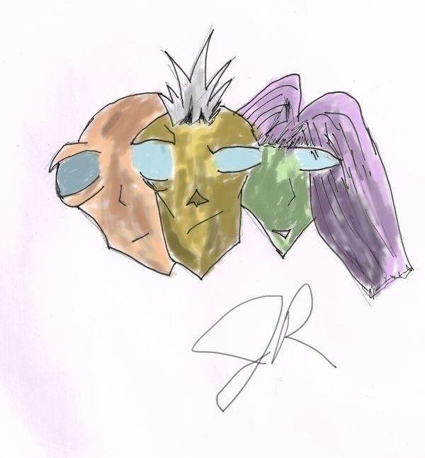 Common Vision - illustration, drawing - janoryusaru | ello