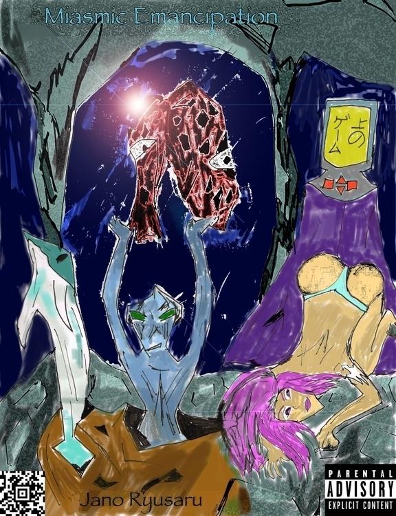 Miasmic Emancipation - illustration - janoryusaru | ello