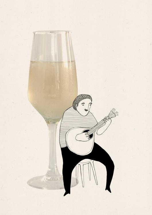 Taste Porto- Vinho verde - illustration - msarte | ello