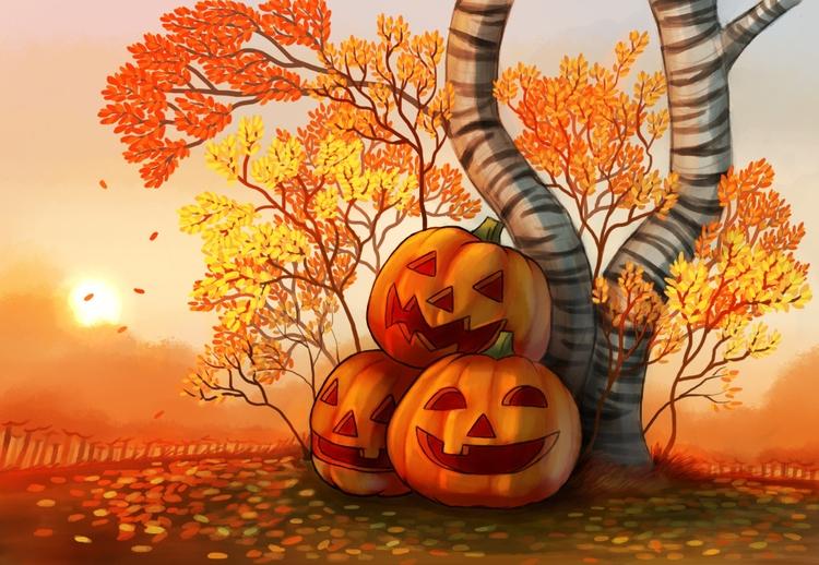 Autumn love favourite time year - alexjohnston | ello