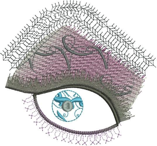 Blue Eye Charming - eye, face, fashiondesign - esn-3951 | ello