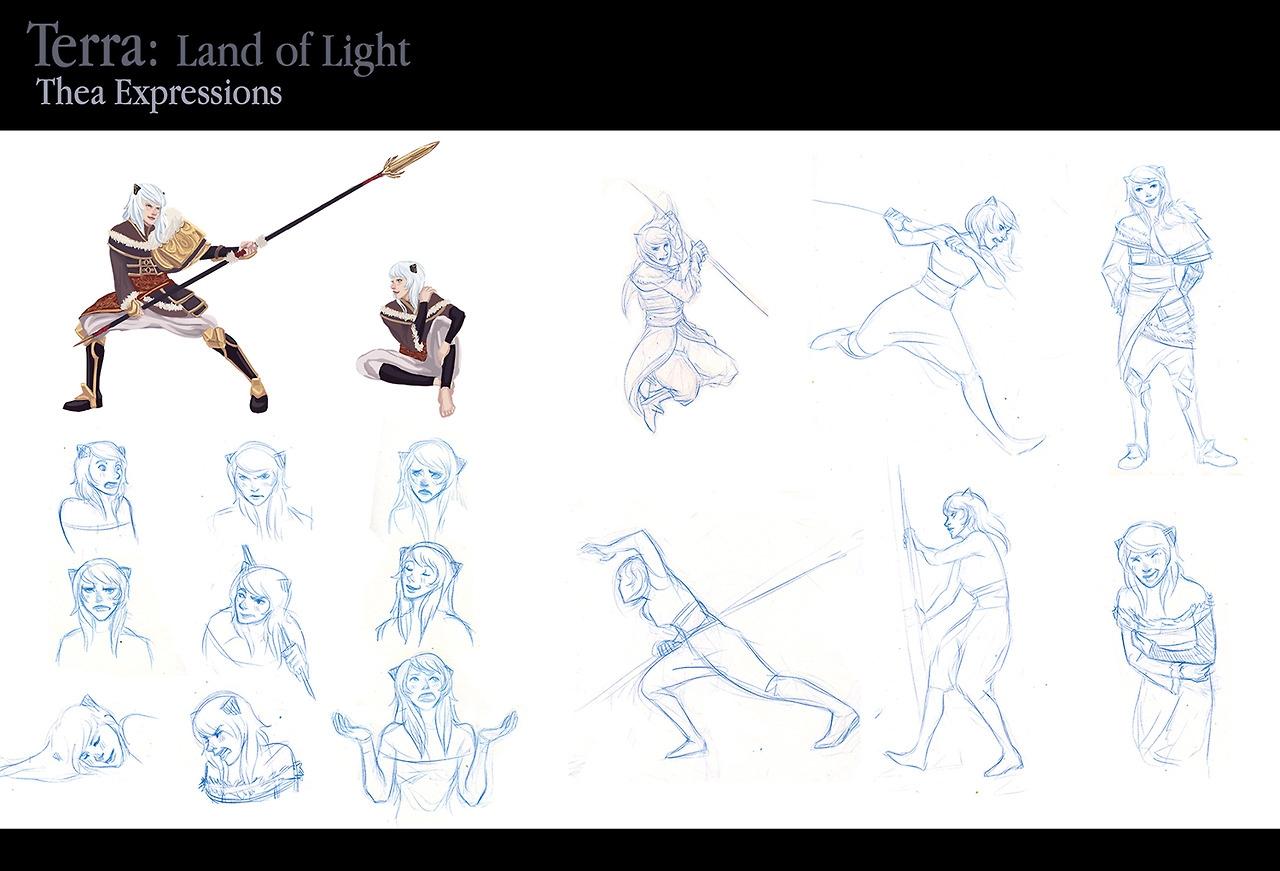 Thea Concept - characterdesign, characterconcept - anndorphin | ello