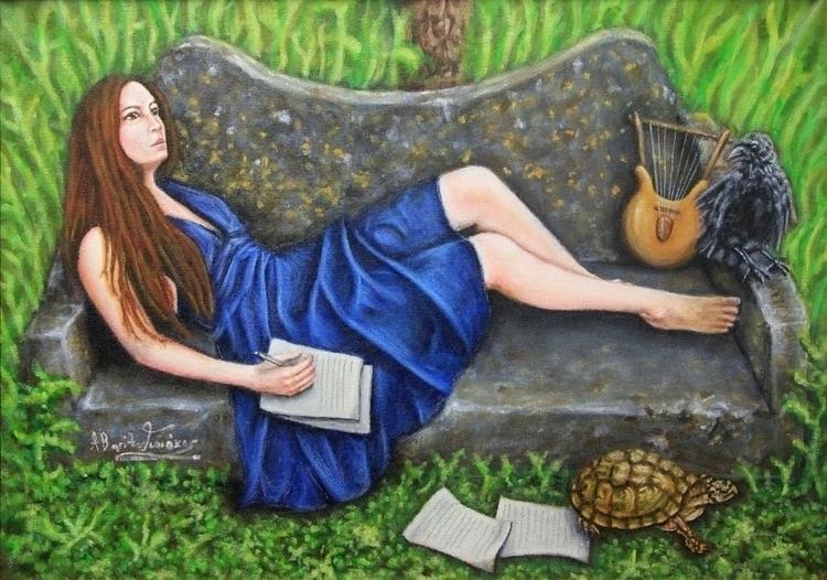 Inspiration acrylics canvas - painting - vgiannakos | ello