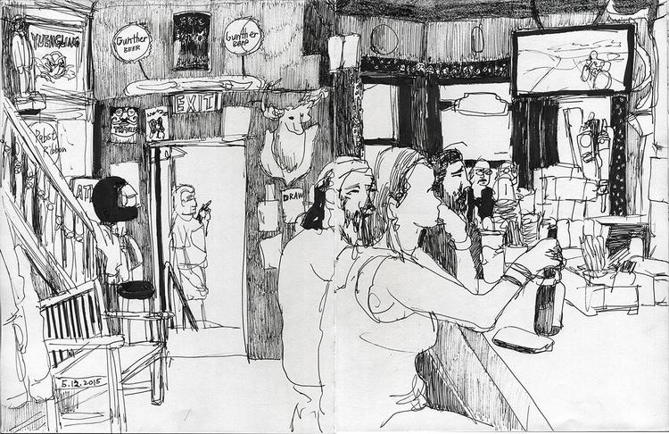 Mount Royal Tavern - 7, journalisticdrawing - ononlao | ello