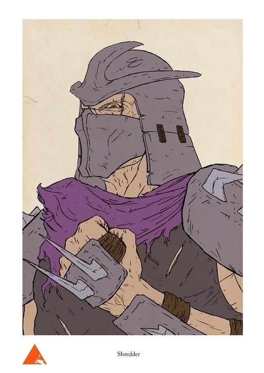 Shredder - wyshcreative | ello