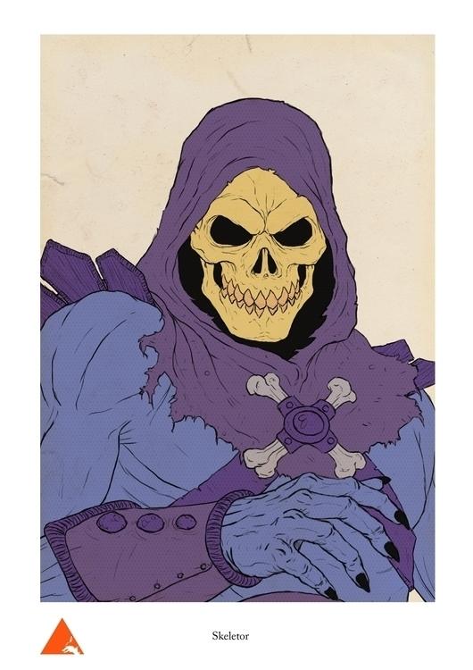 Skeletor - wyshcreative | ello