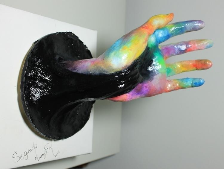 Clay Sculpture painting oilcolo - vanniegama | ello