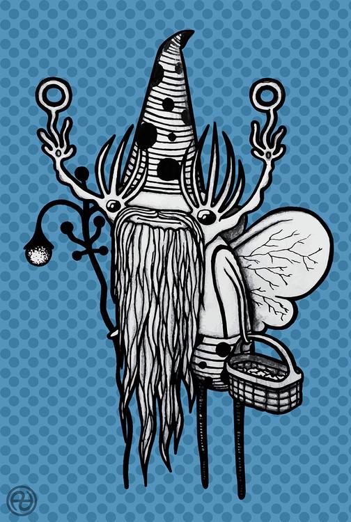 Beardy Keeper cookies - characterdesign - paralleldimensions | ello