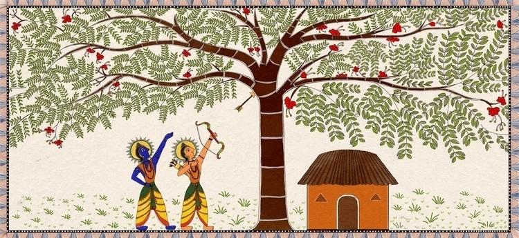 depiction madhubhani painting s - amrita-4734 | ello