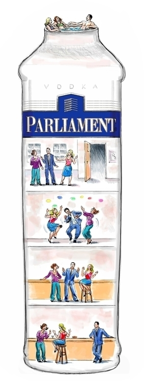 Parliament Vodka Board - storyboard - doritart | ello