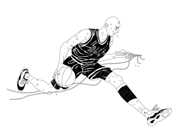 illustration, sports, characterdesign - sashagrime | ello
