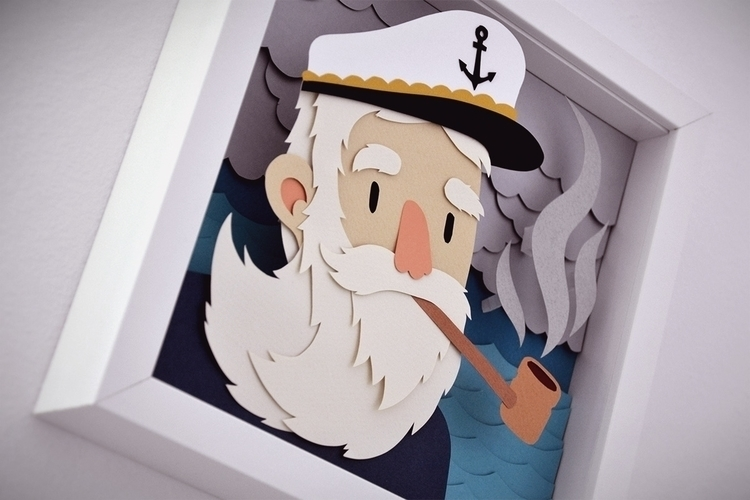 Ol' sailor Vasco - illustration - vaclavbicha | ello