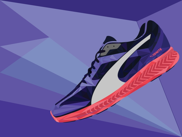 IGNITE shoe illustration - ignite - akash-1439 | ello