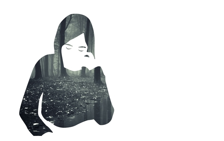 illustrator, doubleexposure, vector - valiente | ello