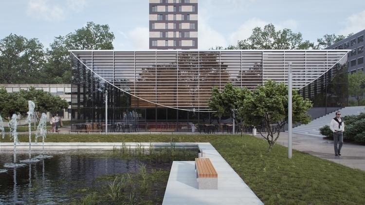 digitalart, architecture - hramovsky | ello