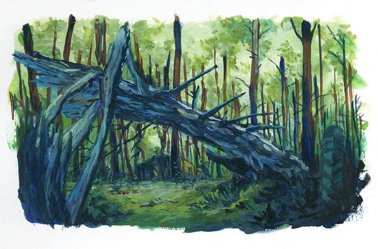 Quick practice painting referen - kshin | ello