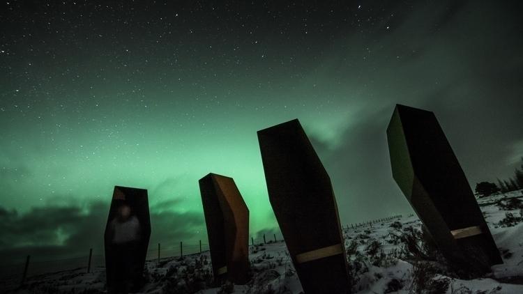 Aurora scotland - photography, nightsky - malcolmcross | ello